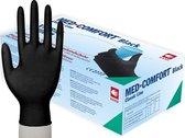 Ampri Gmbh | Vitril handschoenen | Maat S | Zwart | 100 stuks