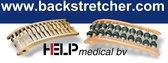 Rolastretcher en Neckstretcher Combi deal Rugstretcher en Nekstretcher - Voor drukpuntmassage en rugmassage