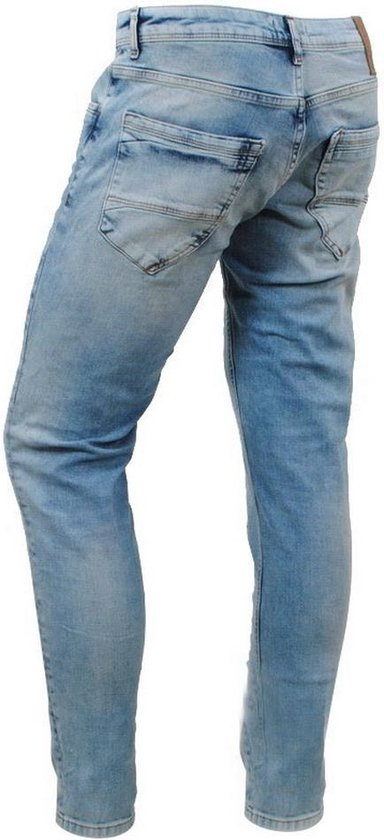 Cars Jeans - Heren Slim Fit Stretch Lengte 34 Blast Stone Fancy Used