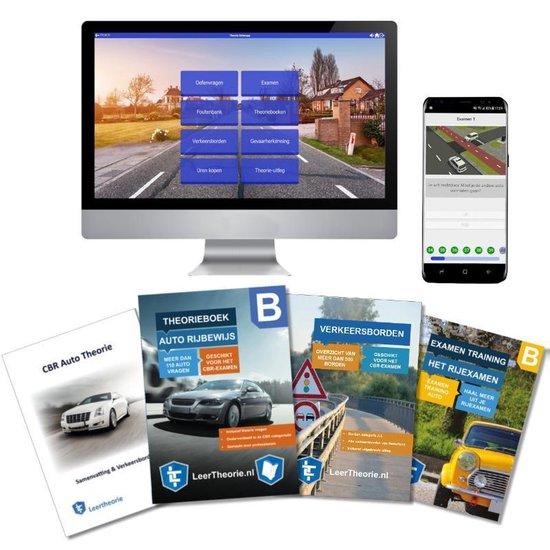 Afbeelding van AutoTheorieboek 2020 Rijbewijs B   Auto Theorieboek   Auto Theorie Samenvatting   Verkeerborden overzicht   Praktijk informatie   CBR Auto Theorie Leren en Oefenen