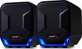 Stereo Luidsprekers Audiocore AC865 compacte luidsprekers voor computers, laptop en notebook