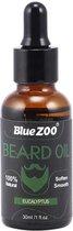 Baardolie 30ml | 100% Natuurlijke Baardgroei Olie | Eucalyptus