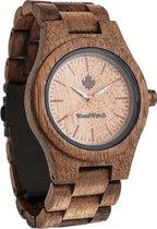 De officiële WoodWatch | Koa | Houten horloge dames