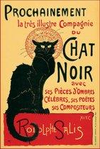Le Chat Noir poster 40x50cm.