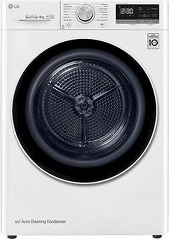 LG RC80V9AV4Q - Warmtepompdroger