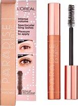 L'Oréal Paris Paradise Extatic Mascara - 01 Black - Mega Volume Mascara - 4 stuks - Voordeelverpakking