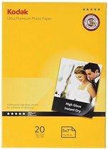 Kodak Ultra Premium 13x18 280gr 20 Vellen Glanzend