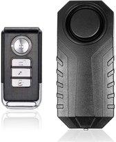 Fietsalarm - Scooter Alarm - Anti Diefstal - Alarmsysteem Draadloos - Alarm voor o.a. Scooter, Fiets, E-Bike, Motor, Raam, Kluis