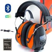 Gehoorbeschermer DAB+ Bluetooth - Gehoorbeschermer met radio - Radio Oorkappen