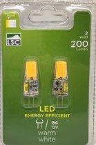 LSC ledlamp G4 - 12V - Set van 2 - 2Watt