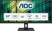 AOC Q34E2A - Ultrawide Full HD IPS Monitor - 34 inch