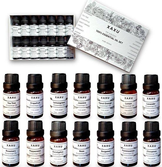 Etherische Olie Set - Etherische Olie - Essentiele Olie - Eucalyptus - Aroma Diffuser Vulling - Gift - Cadeau
