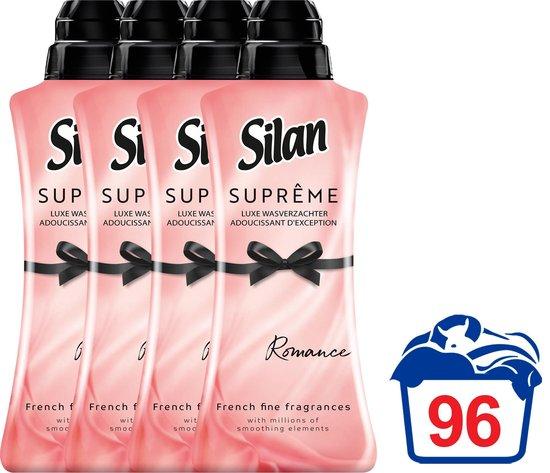 Silan Suprême Wasverzachter Romance - Voordeelverpakking - 4 x 24 wasbeurten