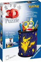 Ravensburger 3D Puzzel Pennenbak Pokémon - 54 stukjes
