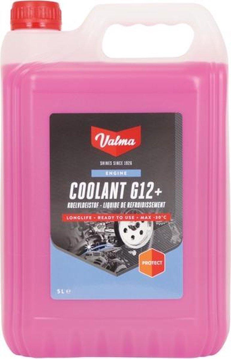Valma Koelvloeistof G12+Longlife -30°C - 5 Liter