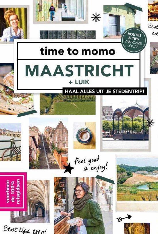 Boek cover time to momo Maastricht + Luik van Sanne Tummers (Paperback)