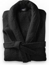 Dreamhouse Soft Terry - Badjas - Katoen badstof - L/XL - Zwart - Ultra zacht en warm