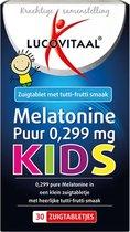 6x Lucovitaal Melatonine Puur Kids 30 zuigtabletten