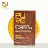 Organic Jasmijn Shampoo Bar 60g - vegan en geen chemicalen