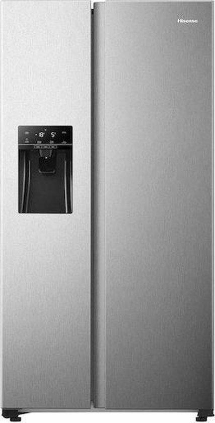 Koelkast: Hisense RS650N4AC1 - Amerikaanse koelkast - RVS, van het merk Hisense
