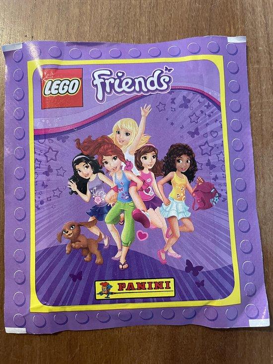 Afbeelding van het spel Panini Lego Friends Stickerzakje met 5 Stickers