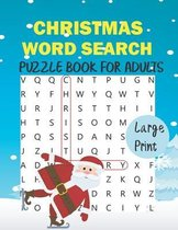 Christmas Word Search Puzzle Book for Adults Large Print