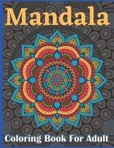 Mandala Coloring Book for Adult