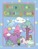 Fairy Tales Coloring Book for kids