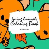 Spring Animals Coloring Book for Children (8.5x8.5 Coloring Book / Activity Book)