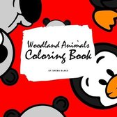 Woodland Animals Coloring Book for Children (8.5x8.5 Coloring Book / Activity Book)