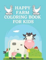 Happy Farm Coloring Book For Kids