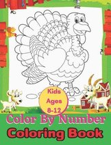 Kids Ages 8-12 Color By Number Coloring Book