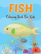 Fish Coloring Book for Kids
