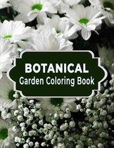 Botanical Garden Coloring Book
