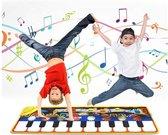 Speelmat Piano  Piano Muziek Mat  Speelgoed  Inclusief Batterijen en Schroevendraaier  Muziekmat Pianomat –  Spelenderwijs Leren – Waterafstotend – Kindvriendelijk – Educatief en Creatief – Vanaf 3 Jaar