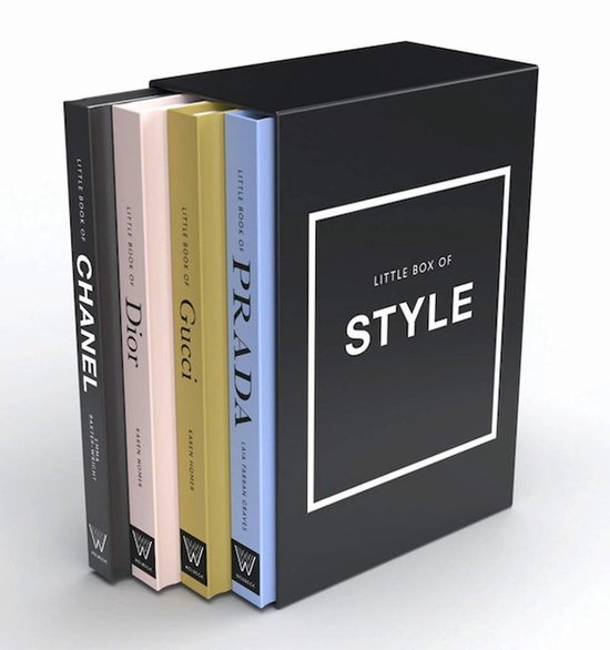 Boek cover The Little Guides to Style van Emma Baxter-Wright (Hardcover)