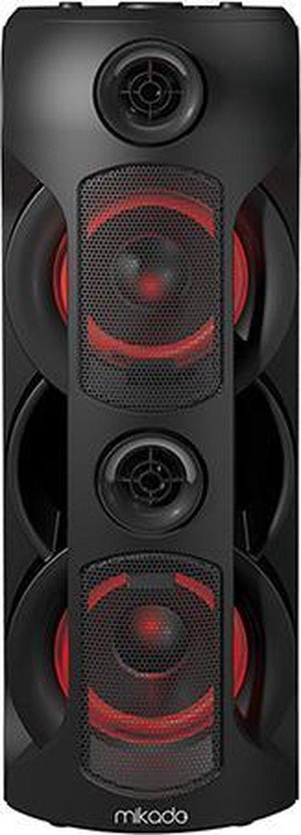 Mikado MD-BT39 Karaoke Set en Bluetooh Speaker met Draadloze Microfoon