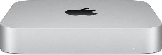 Apple Mac Mini (2020) - M1 chip - 8 GB - 256 GB SSD - Mini PC - Zilver