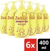 Zwitsal Zeepvrije wasgel pomp - 6 x 400 ml