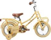 Cargo meisjes fiets 12 inch Crem