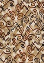Aledin carpets Dakar - Tuintapijt - Vloerkleed 160x230 cm - Meerkleurig - Buitenkleed - Buitentapijt