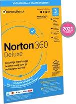 Norton 360 Deluxe 2021 3 apparaten 1 jaar - Fysiek