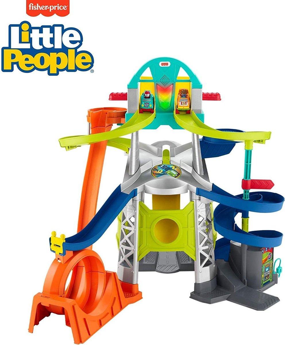 Fisher-Price - Little People - Launch & Loop Raceway (GMJ12)