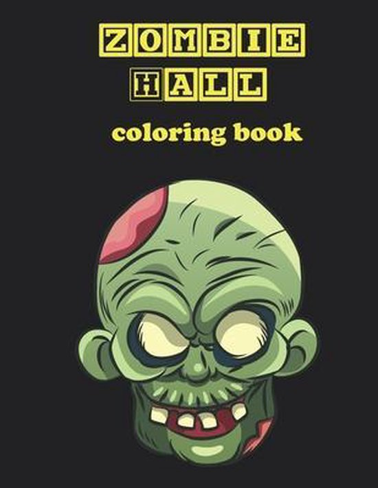 Zombie Hall, coloring book