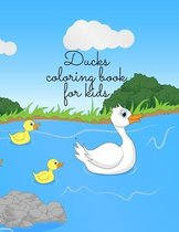 Ducks coloring book for kids