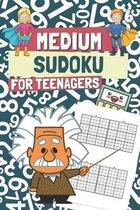 Medium Sudoku for Teenagers
