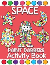 space Paint Dabbers activity book