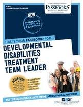 Developmental Disabilities Treatment Team Leader, Volume 4527
