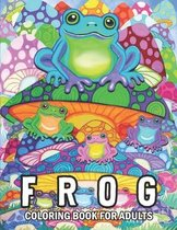 Frog Coloring Book for adults