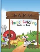 Farm Animal Coloring Books For Kids